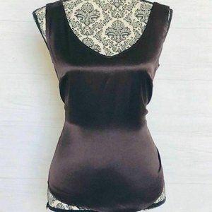 ESCADA Top Size 40 Silk Shell Blouse Shirt Career